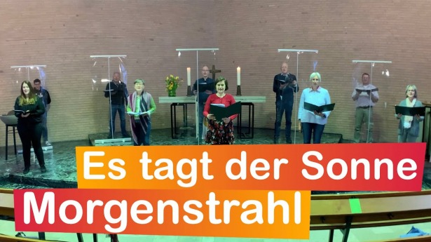 """Embedded thumbnail for 02.05.2021 – """"Es tagt der Sonne Morgenstrahl"""""""