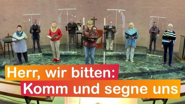 """Embedded thumbnail for 20.06.2021 – """"Herr, wir bitten: Komm und segne uns"""""""