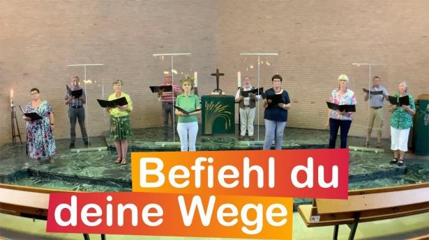 """Embedded thumbnail for 18.07.2021 – """"Befiehl du deine Wege"""" (EG 361)"""