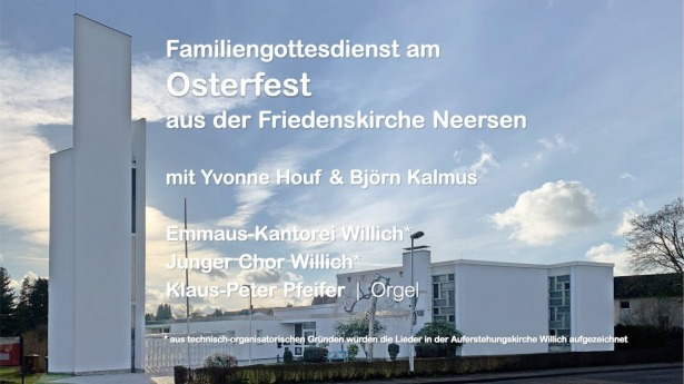 Embedded thumbnail for Familiengottesdienst am Osterfest 2021