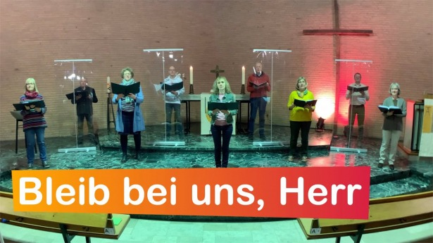 """Embedded thumbnail for 05.04.2021 – """"Bleib bei uns, Herr"""""""