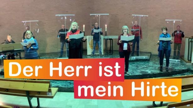 """Embedded thumbnail for 24.01.2021 – """"Der Herr ist mein Hirte"""""""