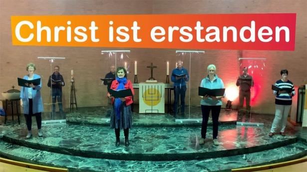 """Embedded thumbnail for 11.04.2021 – """"Christ ist erstanden"""""""