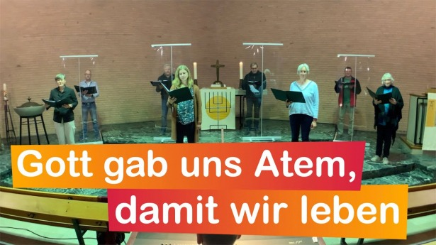 "Embedded thumbnail for 25.04.2021 – ""Gott gab uns Atem, damit wir leben"" (EG 432)"
