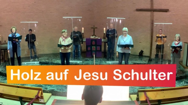 "Embedded thumbnail for 28.03.2021 – ""Holz auf Jesu Schulter"" (EG 97)"