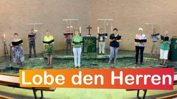 """Embedded thumbnail for 11.07.2021 – """"Lobe den Herren"""" (EG 316)"""