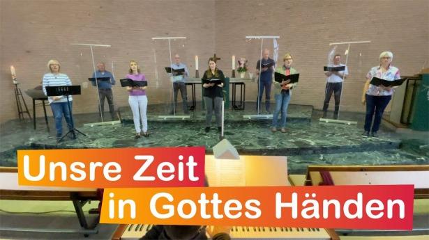 """Embedded thumbnail for 01.08.2021 – """"Unsre Zeit in Gottes Händen"""""""