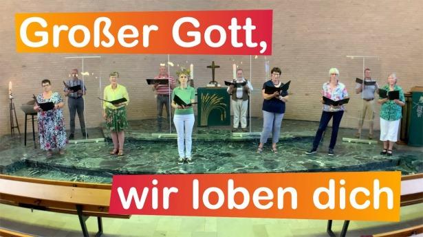 """Embedded thumbnail for 05.09.2021 – """"Großer Gott, wir loben dich"""" (EG 331)"""