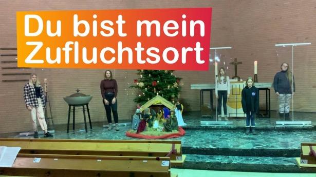 """Embedded thumbnail for 31.12.2020 – """"Du bist mein Zufluchtsort"""""""