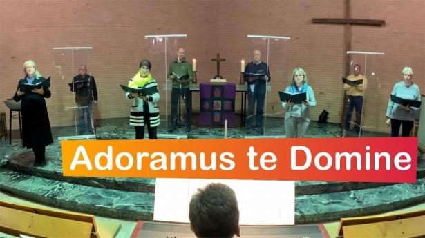 "Embedded thumbnail for 28.02.2021 – ""Adoramus te Domine"""