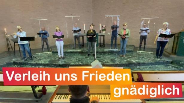 """Embedded thumbnail for 15.08.2021 – """"Verleih uns Frieden gnädiglich"""""""