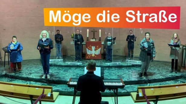 """Embedded thumbnail for 06.01.2021 – """"Möge die Straße uns zusammenführen"""""""